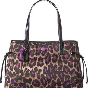 Coach Ocelot purse shoulder bag